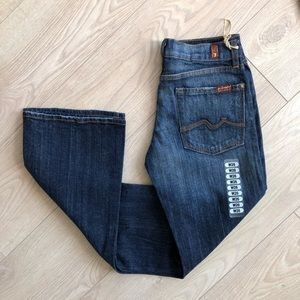 7 for all mankind BNWT bootcut jeans